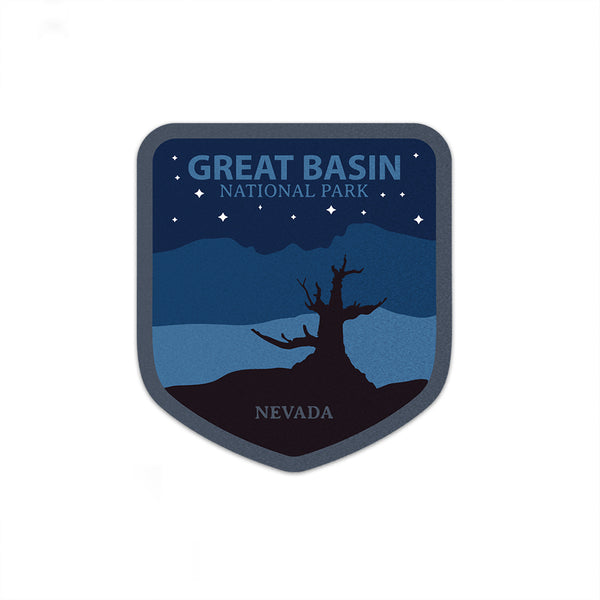 Great Basin National Park Sticker Night | National Park Decal - National Park Life