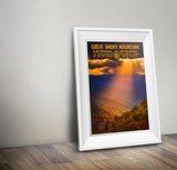 Great Smoky Mountains National Park Poster - National Park Life