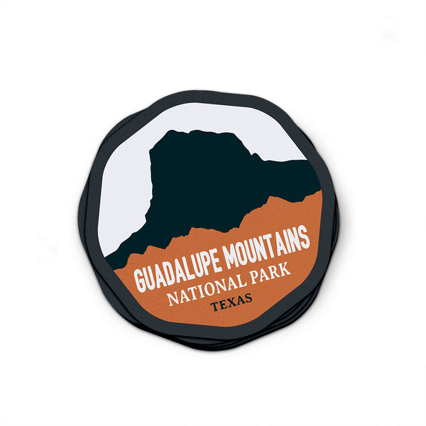 Guadalupe Mountains National Park Sticker | National Park Decal - National Park Life