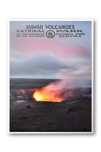 Hawaii Volcanoes National Park Poster - National Park Life