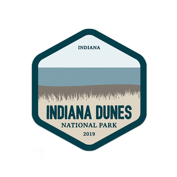Indiana Dunes National Park Sticker - National Park Life