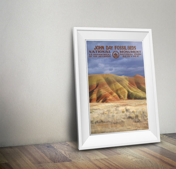 John Day Fossil Beds National Monument Poster - National Park Life