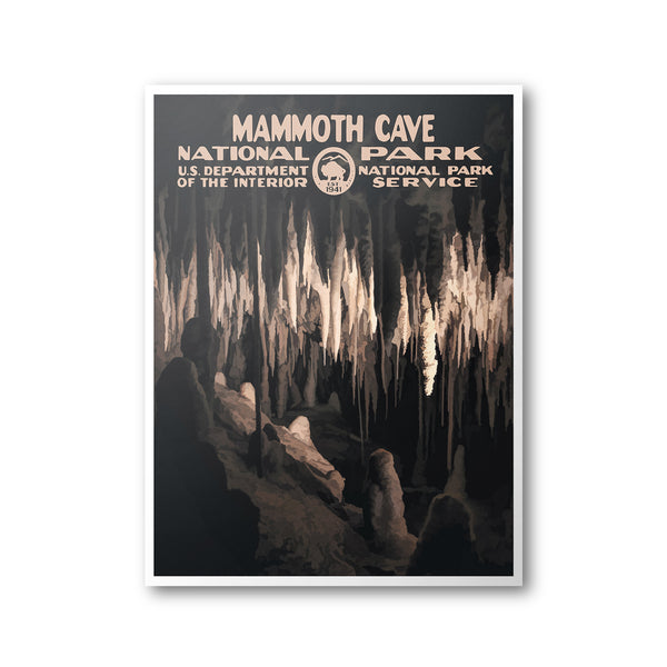 Mammoth Cave National Park Poster - National Park Life