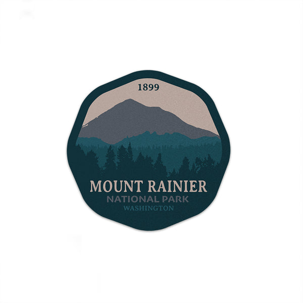 Mount Rainier National Park Sticker - National Park Life