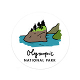 Olympic National Park Sticker - National Park Life