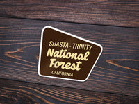 Shasta-Trinity National Forest Sticker - National Park Life