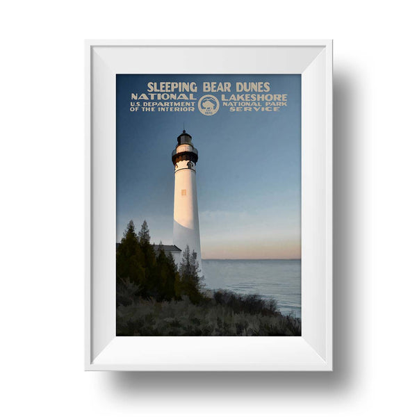 Sleeping Bear Dunes National Lakeshore Poster - National Park Life