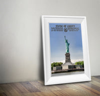 Statue of Liberty National Monument Poster - National Park Life