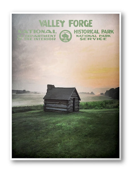 Valley Forge National Historical Park Poster - National Park Life