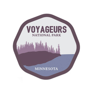 Voyageurs National Park Sticker | National Park Decal - National Park Life