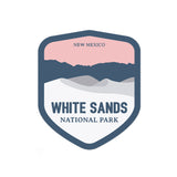 White Sands National Park Sticker - National Park Life