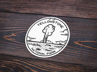 Yellowstone National Park Sticker | National Park Decal - National Park Life