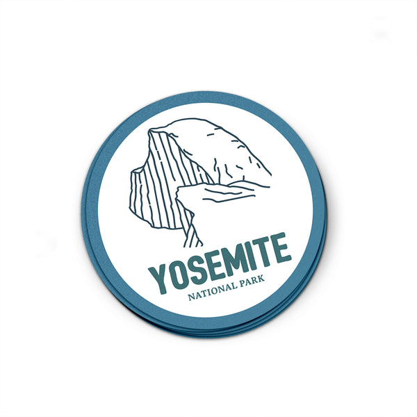 Yosemite National Park Sticker | National Park Decal - National Park Life