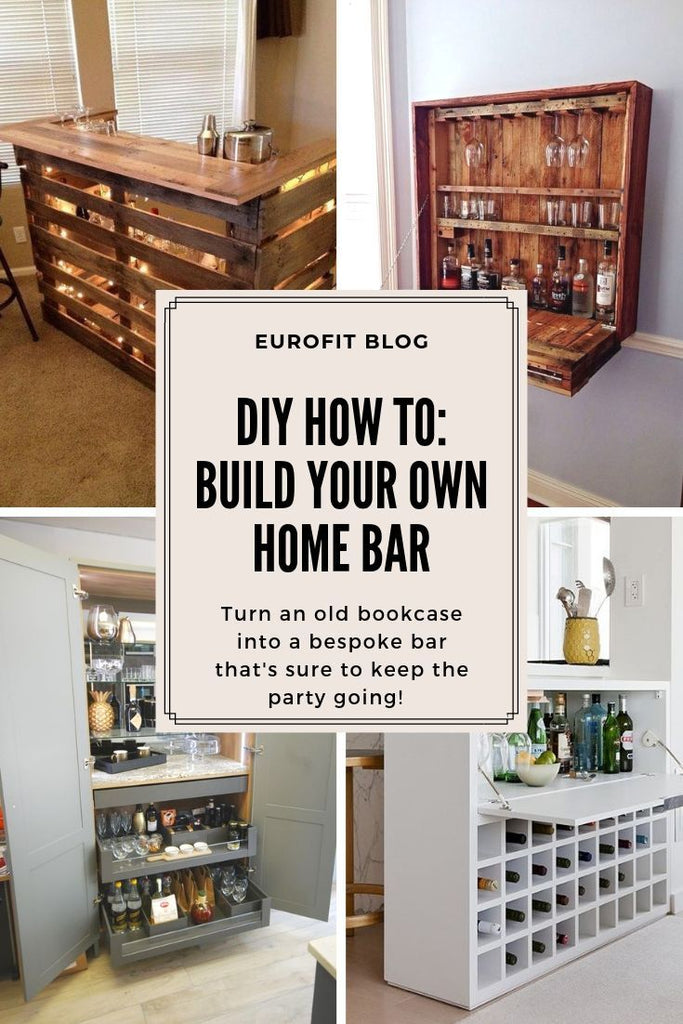 DIY How To: Build Your Very own Home Bar