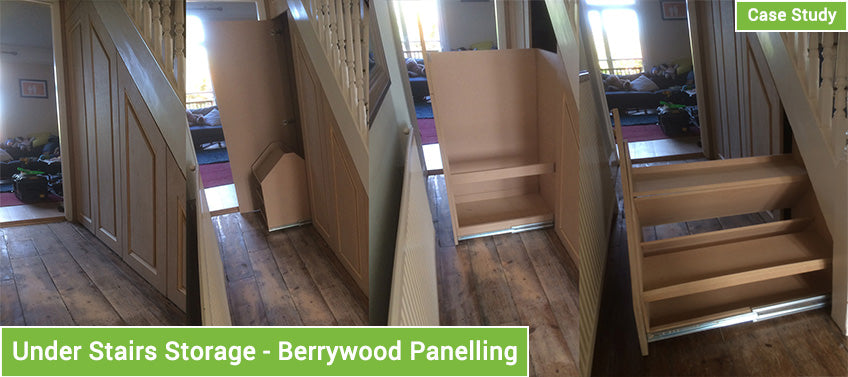 Under Stairs Storage - Berrywood Pannelling