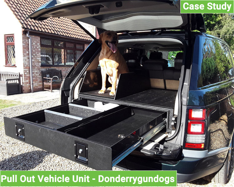 Pull Out Unit Vehicle Conversion - Donderrygundogs