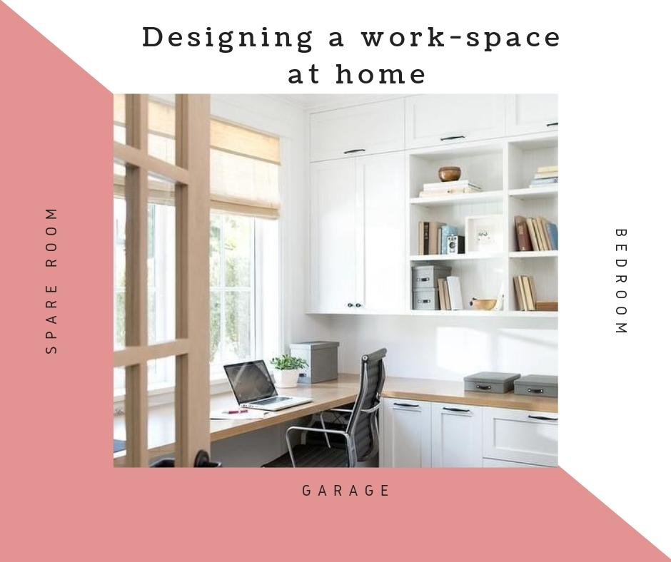 Designing a Workspace at Home in a Spare Room, Bedroom or Garage