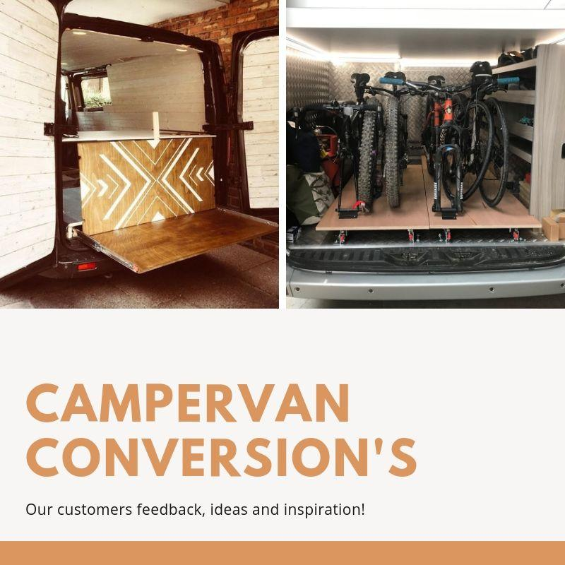 Campervan Conversions, Customer Feedback, Ideas and Inspiration.