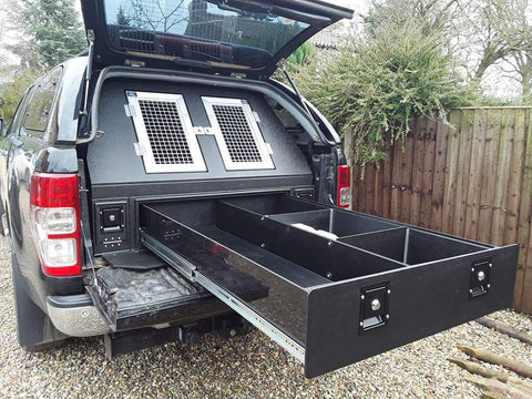 Pull Out Unit for Van Post-Installation