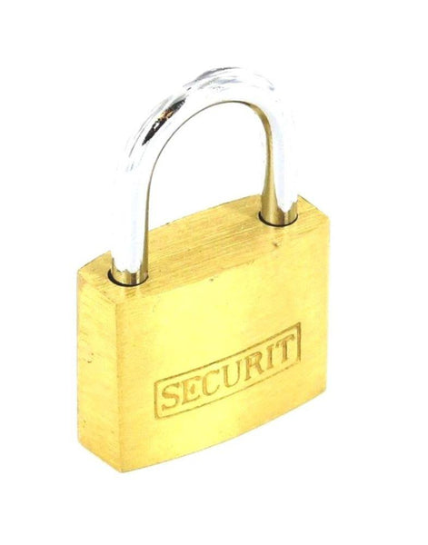 Securit Padlock - Brass - 50mm