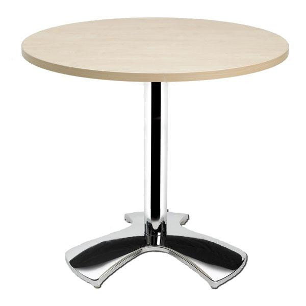 Eurofit Table Bases - Tripod Chrome Base - 600mm