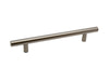 T-Bar Handle 185mm Long (128mm Hole Centers) Brushed Nickel