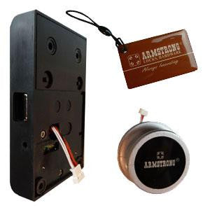 Armstrong Digital Cupboard / Drawer Lock Complete With Knob