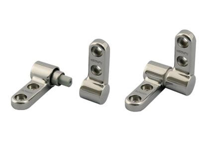 Sugatsune S/Steel Surface Mount Damper Hinge 3-5NM - Eurofit Direct