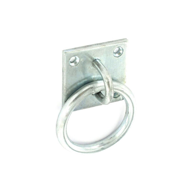 Security Ring on Plate - Zinc Plated