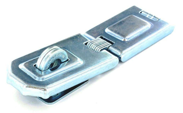Flexible Hinged Hasp - Zinc Plated