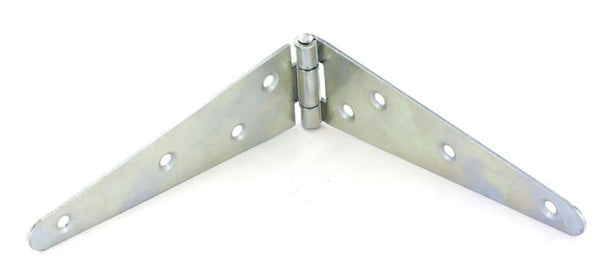 Strap Hinge - 100mm - 1.6mm thick - Zinc Plated