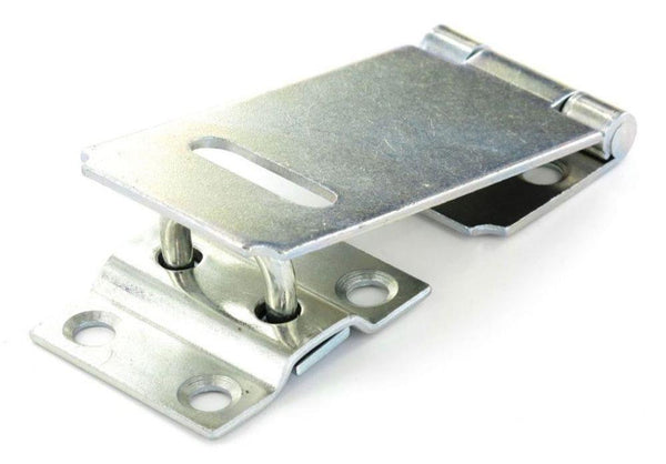 Securit Safety Hasp & Staple - Length 90mm - Zinc Plated