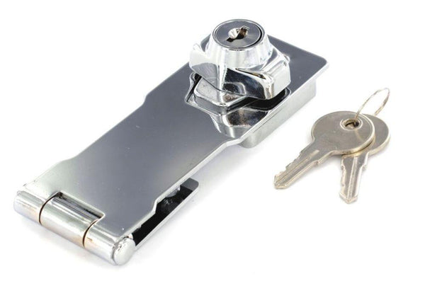 Locking Hasp Cylinder Action - Chrome Plated
