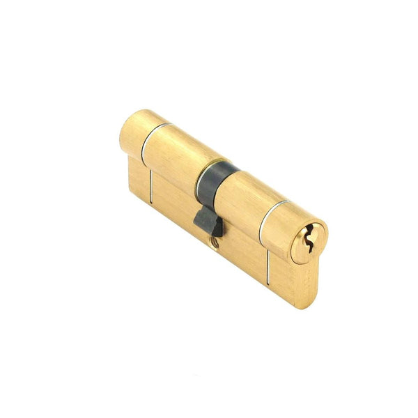 Securit Anti-Snap & Bump Euro Cylinder - 40 x 45mm - Brass