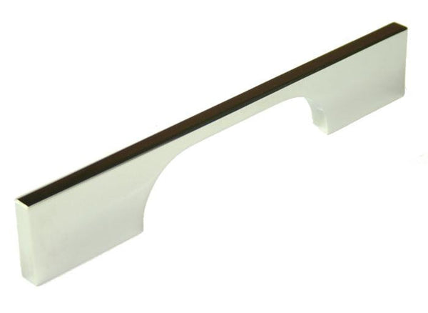 Slim D Handle Length 160mm (Hole Centres 96mm) Polished Chrome