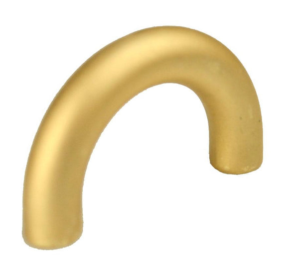 D Handle Length 40mm (Hole Centres 32mm) Gold