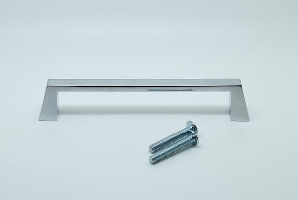 D Handle Length 116mm (Hole Centres 96mm) Polished Chrome
