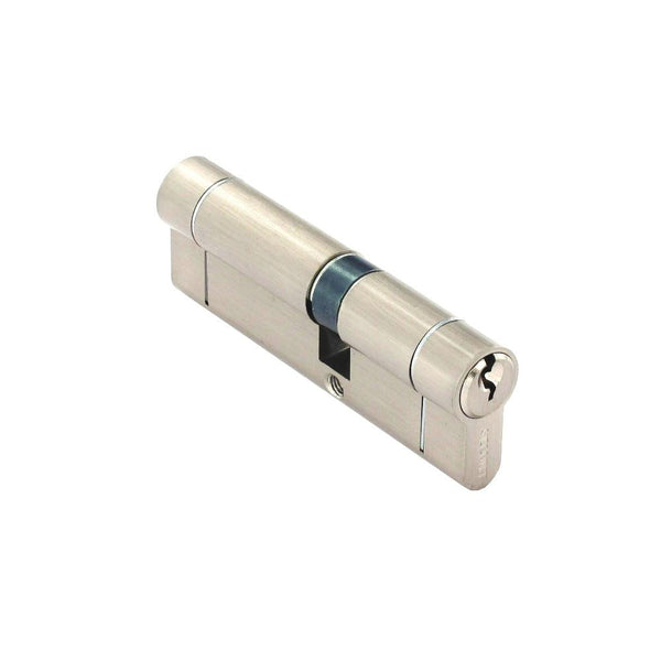 Securit Anti-Snap & Bump Euro Cylinder - 40 x 55mm - Nickel Plated - Eurofit Direct