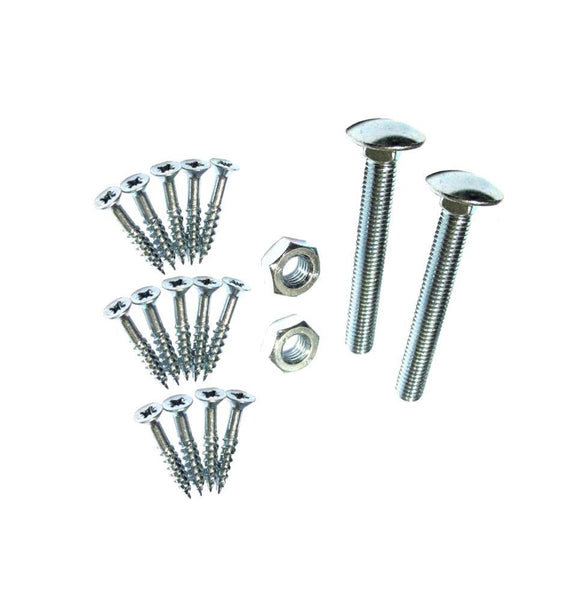Fixings For Band & Hook - 450mm - 600mm - Zinc Plated - Eurofit Direct
