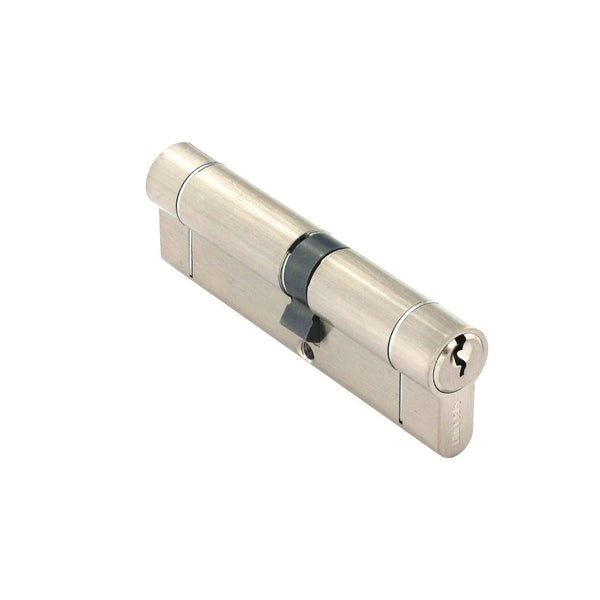 Securit Anti-Snap & Bump Euro Cylinder - 45 x 55mm - Nickel Plated