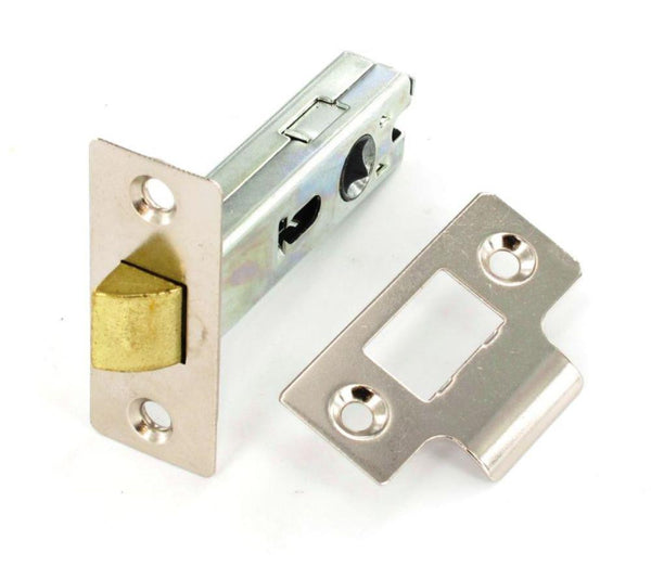 Securit Mortise Latch - Length 75mm - Nickel Plated