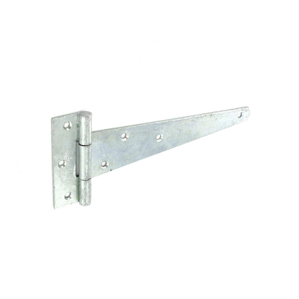 Weighty Scotch Tee Hinges 400mm - 3.5mm thick - Galvanised