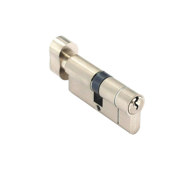 Securit Anti-Snap & Bump Thumb Cylinder - 35 x 35mm - Nickel Plated