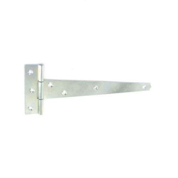 Tee Hinge 200mm - 1.5mm thick - Light - Zinc Plated