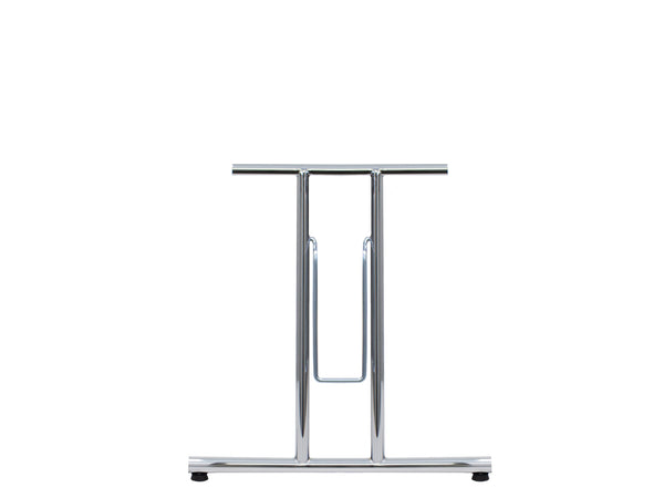 Folding Table Frame 690 x 590mm Straight Foot Chrome Plated