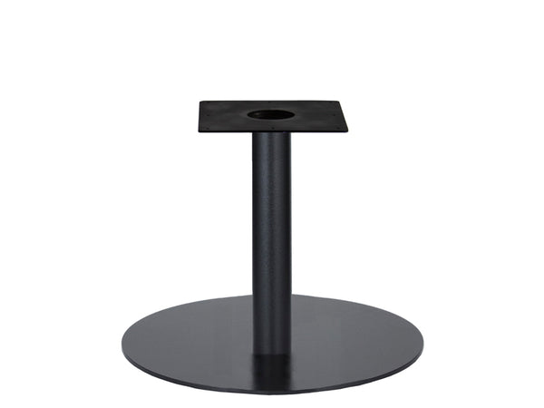 IntAfit Table Base For Integrated Cable Management Black Base & Column - D720 x H690