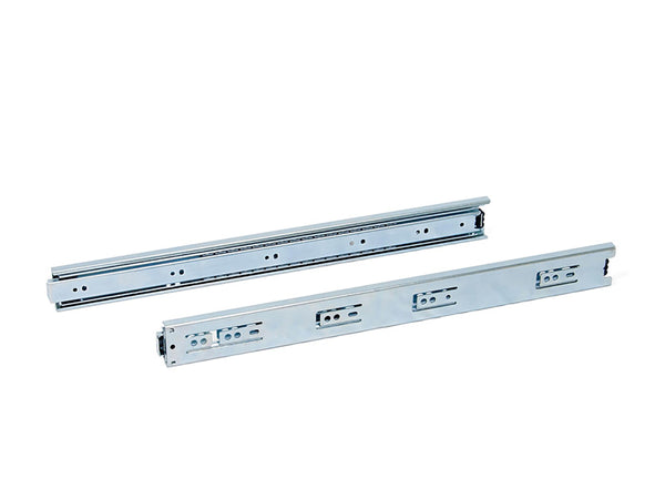 Ball Bearing Drawer Runner 45kg - 45 x 250mm Double Extension