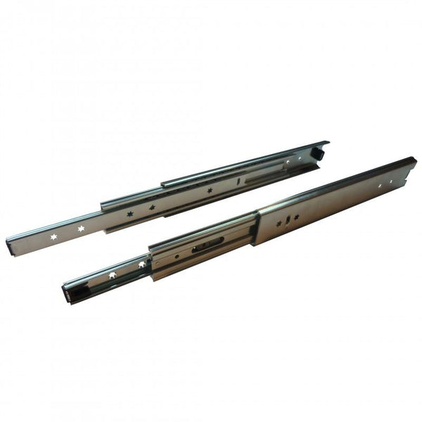 Ball Bearing 100kg Drawer Slide 56 x 500mm Ext 100%