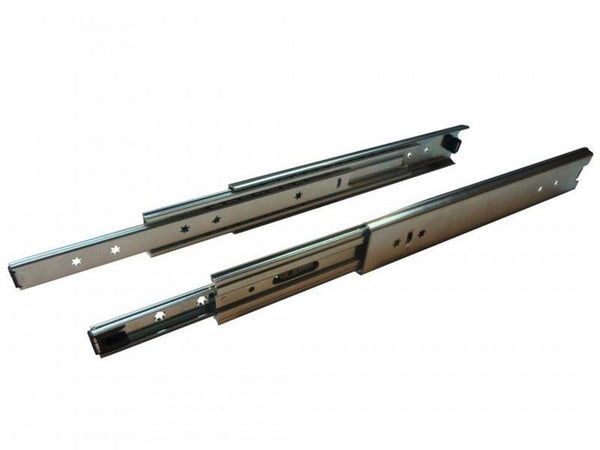 Ball Bearing 120kg Drawer Slide 56 x 1200mm Ext 100%