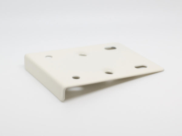 White Hinge Repair Plate